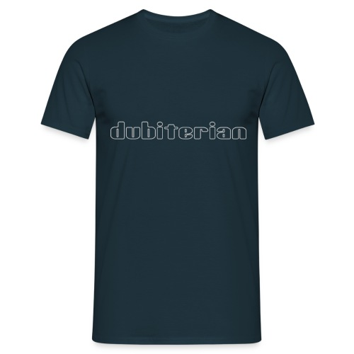 dubiterian1 gif - Men's T-Shirt