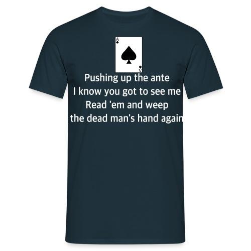 Aceofspadeslyrics#2 - Men's T-Shirt