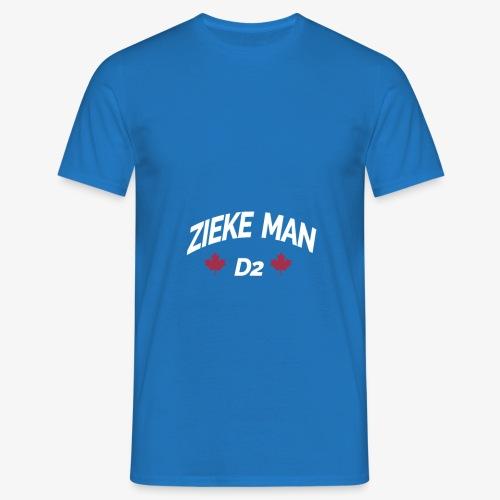 Zieke Man 'Quote By 3robi' - Mannen T-shirt