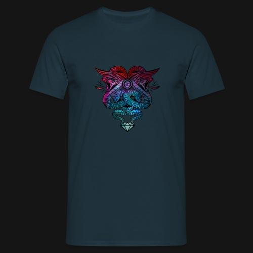 Diamond Snake Eye - Men's T-Shirt