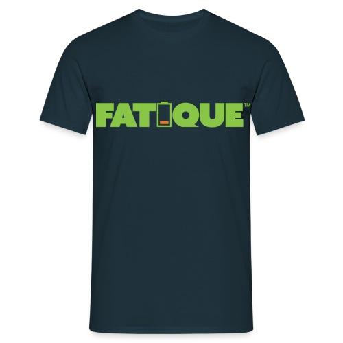 Fatigue lime loco logo - Miesten t-paita