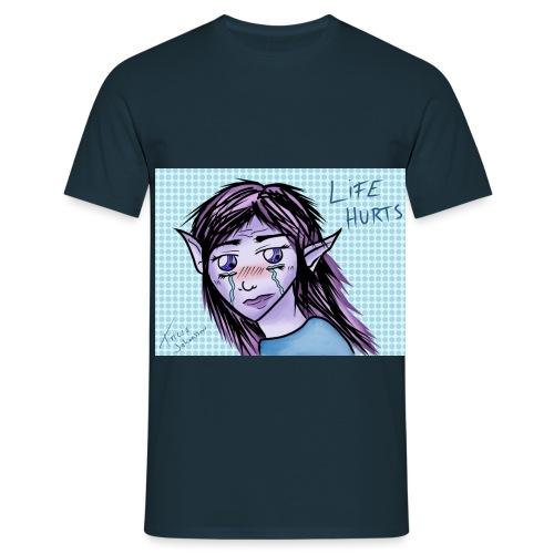 Ledsen alv - T-shirt herr