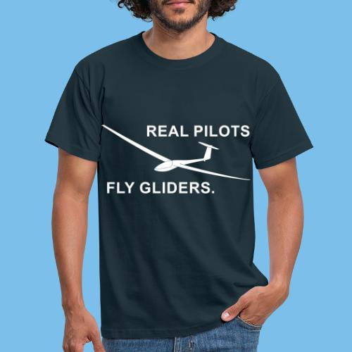 Segelflieger Segelflugzeug gleiten Geschenkidee - Männer T-Shirt