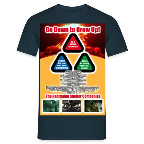 habitat404 fullsize - Männer T-Shirt