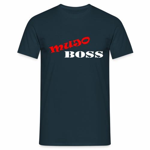 Mujo boss White - T-shirt Homme