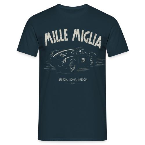 MilleMigliaBLACKart 1024x1024 png - Maglietta da uomo