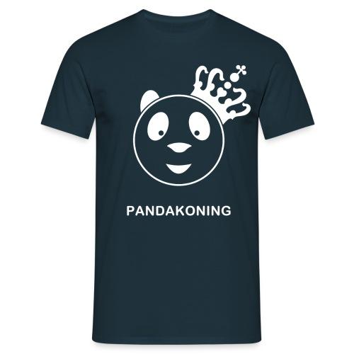 shirt pandakoning II wit gif - Mannen T-shirt