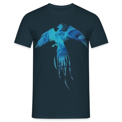 Phoenix blue fire png - T-shirt Homme