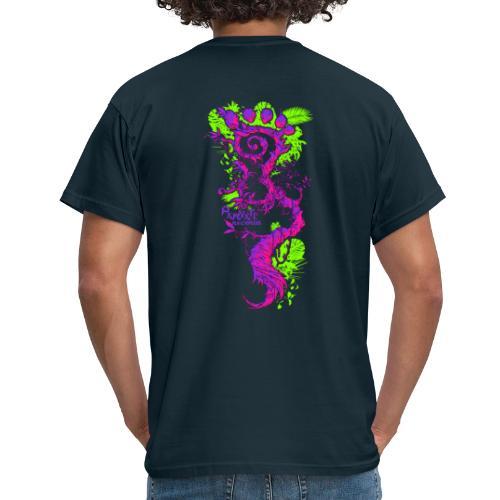 FootMoss purple - Men's T-Shirt
