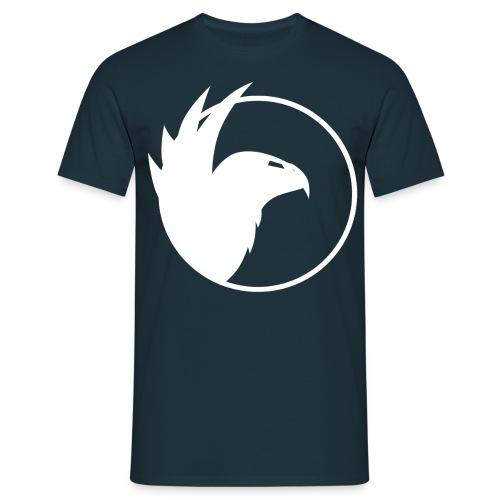 logo concept eagle white png - Männer T-Shirt