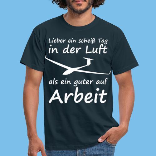 Segelflieger Spruch lustig Geschenkidee Pilot - Männer T-Shirt