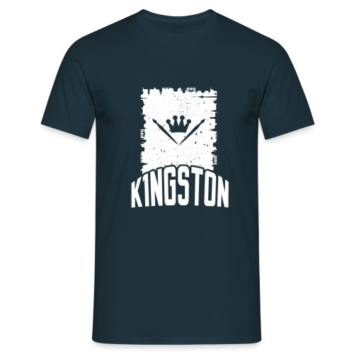 k1ngston_2015_blue - Männer T-Shirt