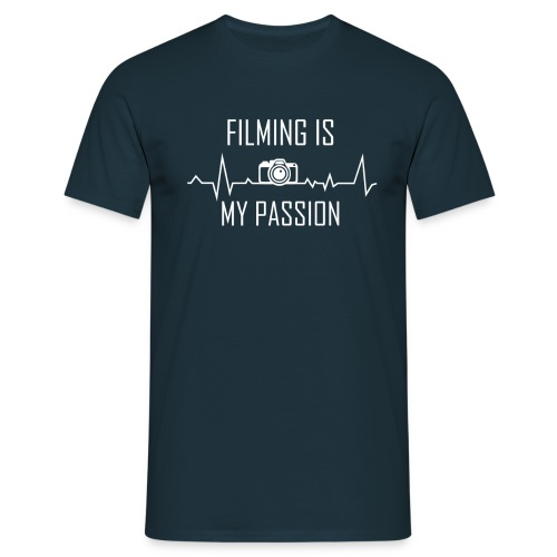 filming is my passion Merchandise by SPDY - Männer T-Shirt