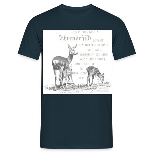 EHRENSCHILDSAFE1Sh - Männer T-Shirt