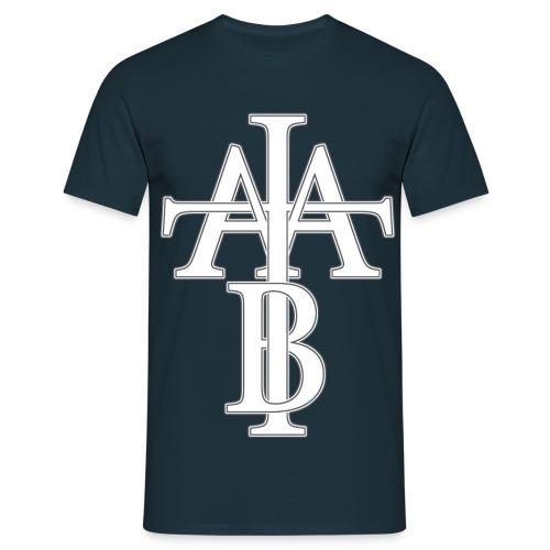 Monogramm für dunkle Shirts png - Männer T-Shirt