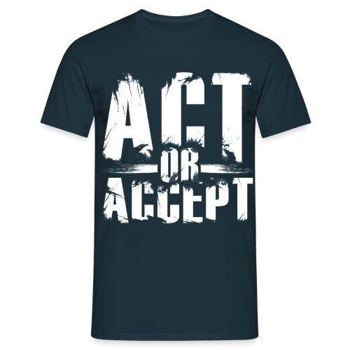 AOA classic - Männer T-Shirt