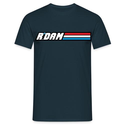 rdam logo military shirtdesign - Mannen T-shirt