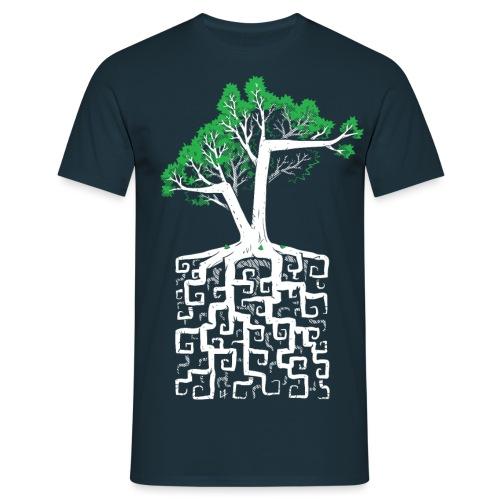 Square Root - Men's T-Shirt