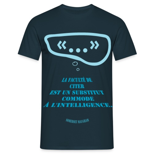 citation sur les citation - T-shirt Homme