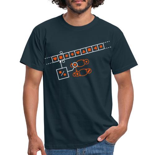 Turing Machine - Mannen T-shirt