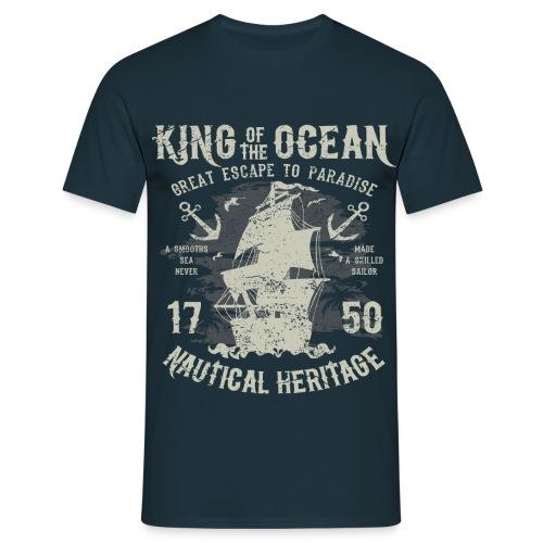 King of the Ocean - Men's T-Shirt