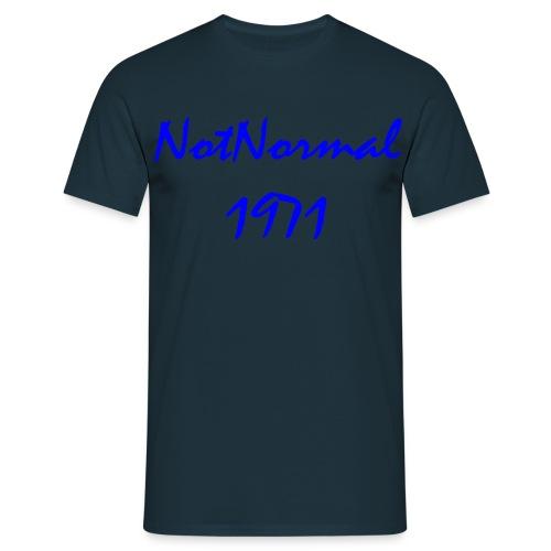 3000x1478 bla - T-skjorte for menn