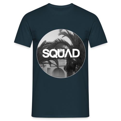 Palmboomrond - Mannen T-shirt