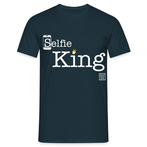 SelfieKingFinal png - Men's T-Shirt