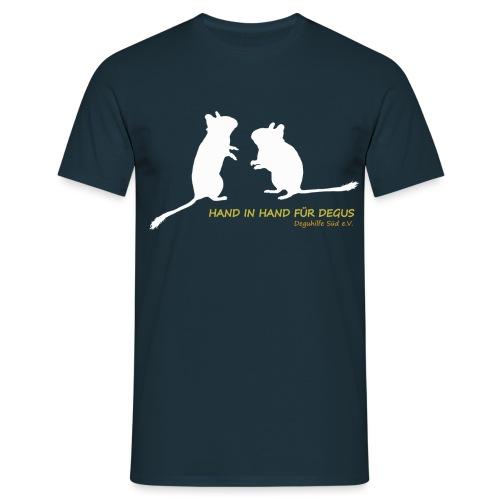 Schattenriss Duo DHS - Männer T-Shirt