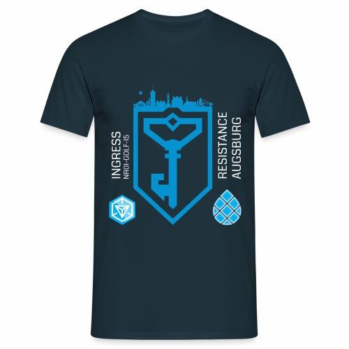 IngressResistanceAugsburg - Männer T-Shirt