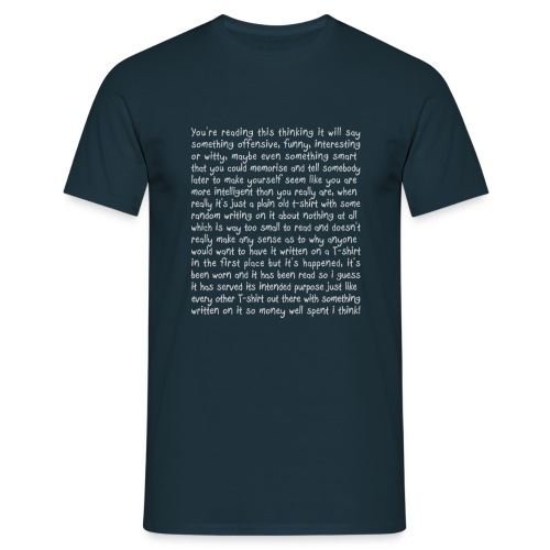 Lot's About Nothing - Men's T-Shirt