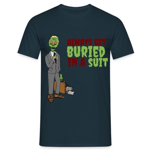 Buried in Suit - Men's T-Shirt