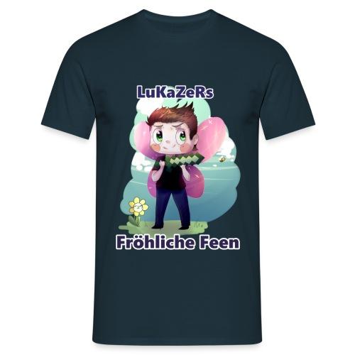 Lukazers Fröhliche Feen - Männer T-Shirt