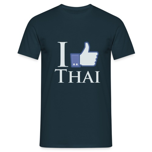 I-Like-Thai-B - Men's T-Shirt