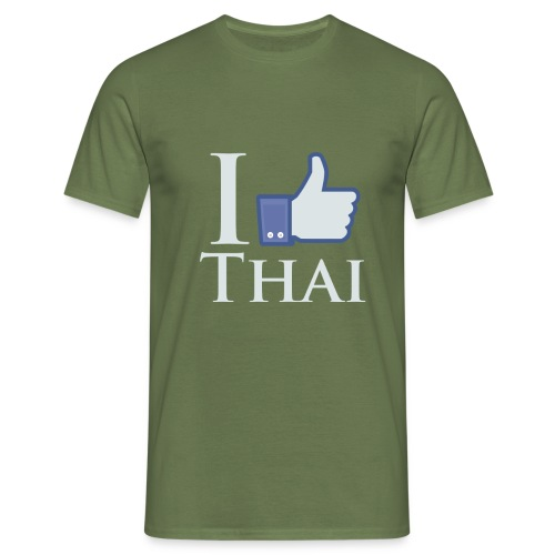 I-Like-Thai-B - Men's T-Shirt