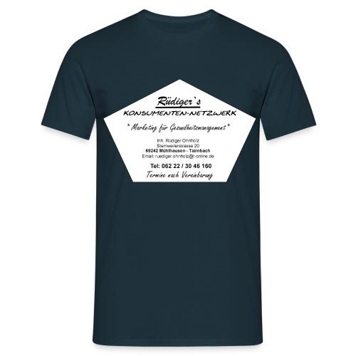 Händlerschild - Männer T-Shirt