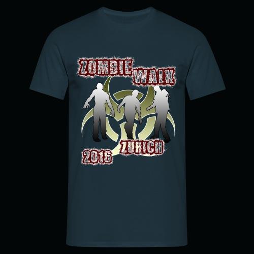 shirt zombie walk - Männer T-Shirt