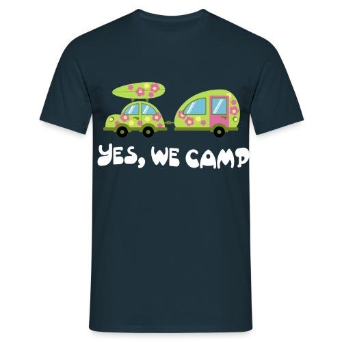 yes we camp 2 - Männer T-Shirt