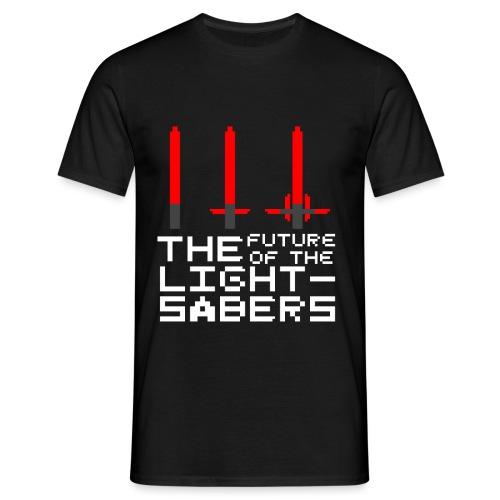 futureoflightsabers - T-shirt Homme