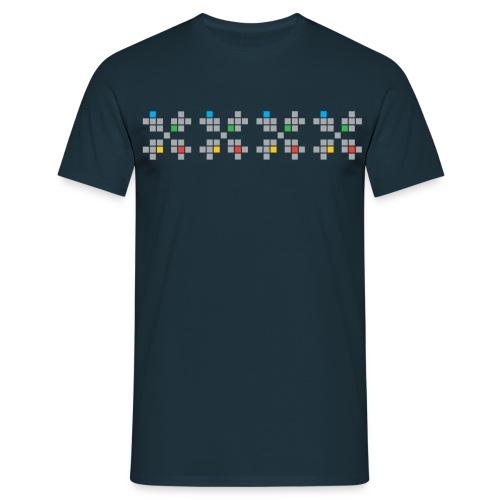 HSF logo BORDE - T-skjorte for menn