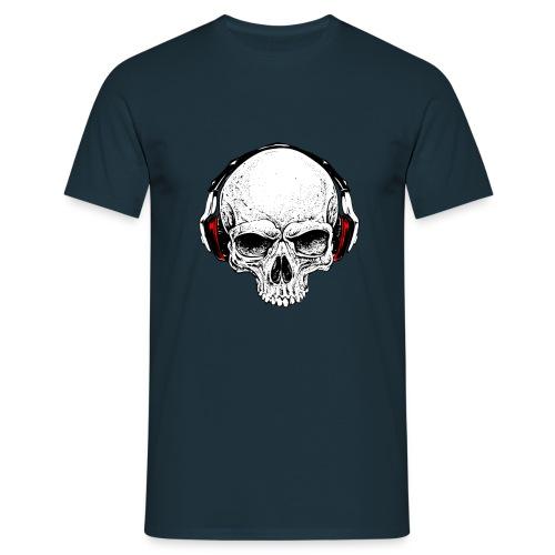 music skull - Maglietta da uomo