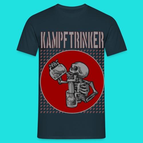 Kampftrinker - Männer T-Shirt