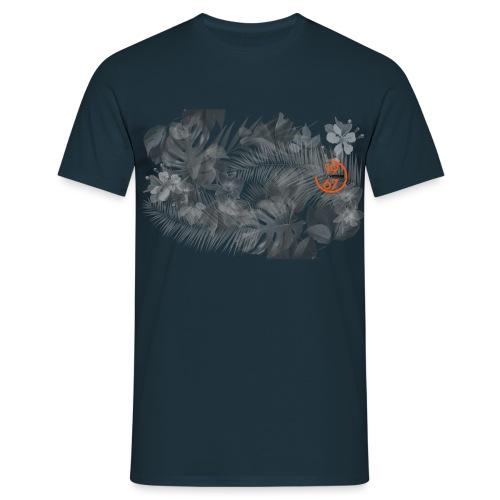 Ugo & Vittore Floral 67bk - Men's T-Shirt