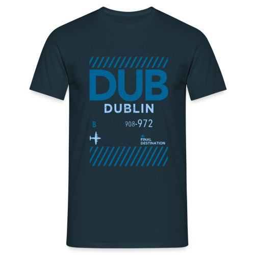 Dublin Ireland Travel - Men's T-Shirt
