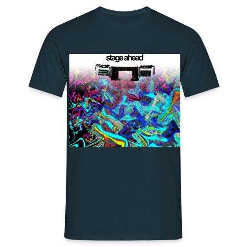 stage ahead - Männer T-Shirt