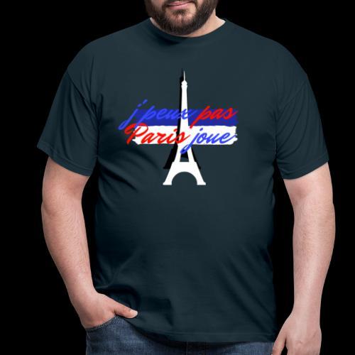 j'peux pas Paris joue foot france - T-shirt Homme