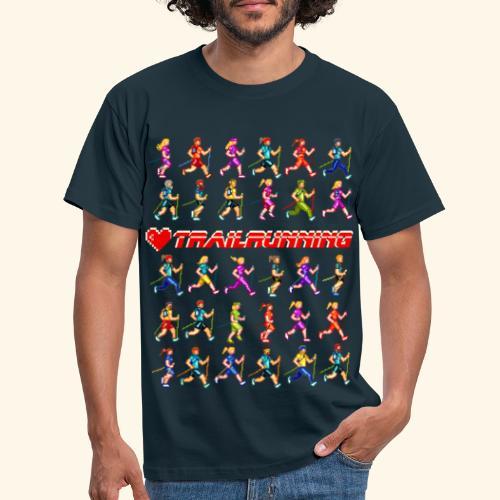 LOVE TRAILRUNNING PIXEL - Maglietta da uomo