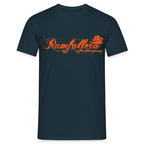 rumfalleraorange - Männer T-Shirt
