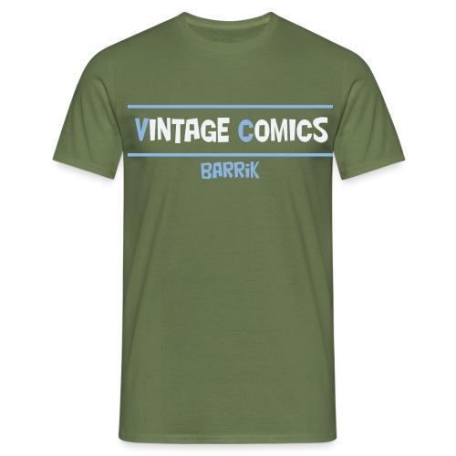 logo maglietta barrik - Maglietta da uomo