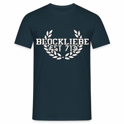 Blockliebe Logo Emblem - Männer T-Shirt